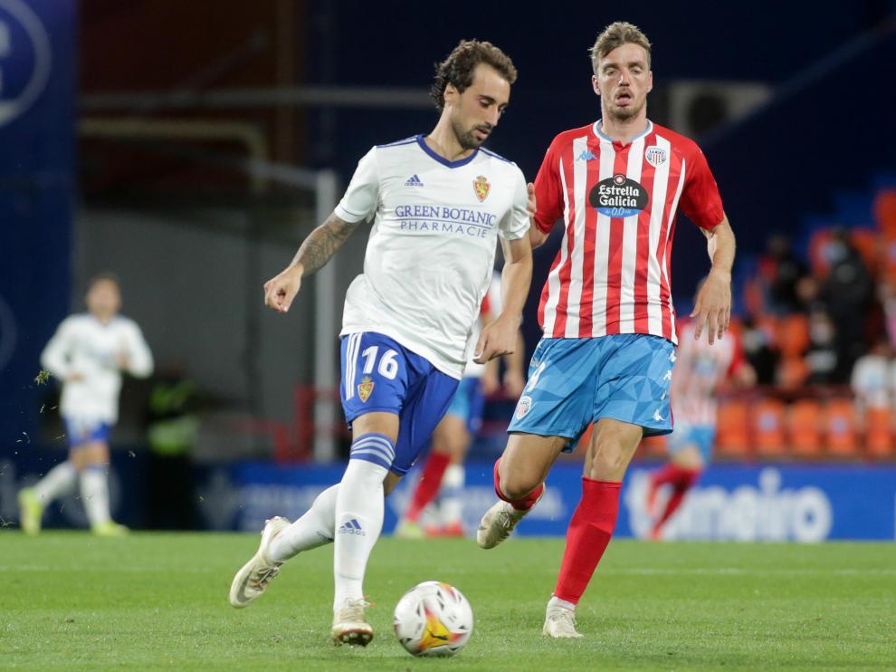 Foto del partido Lugo-Real Zaragoza, jornada 7 de Segunda División