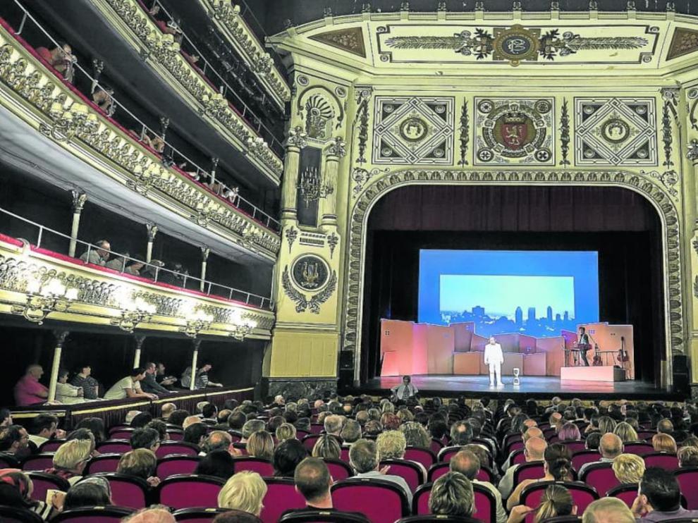 Teatro Principal de Zaragoza.