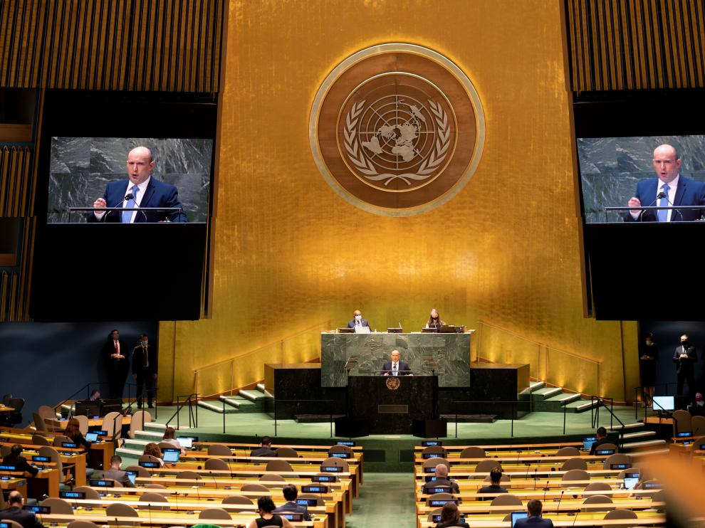 76th Session of the UN General Assembly in New York, New York
