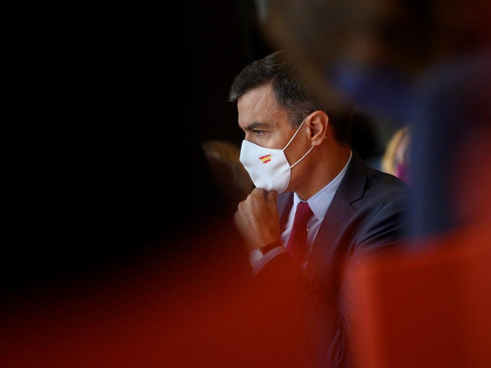 """El presidente del Gobierno Pedro Sánchez inaugura la jornada """"Diálogos sobre el Futuro del Trabajo"""""""