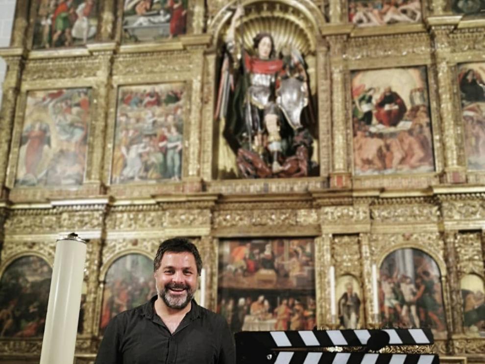José Ángel Guimerá dirigel documental de Pierres Vedel.