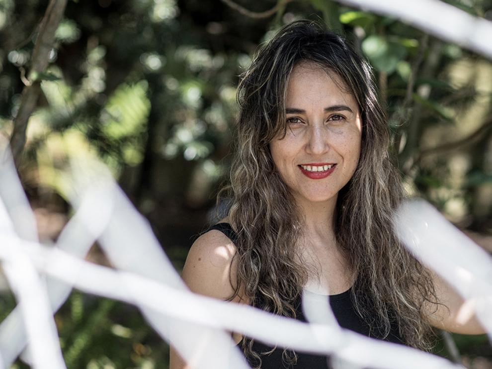 La escritora ecuatoriana Gabriela Ponce.