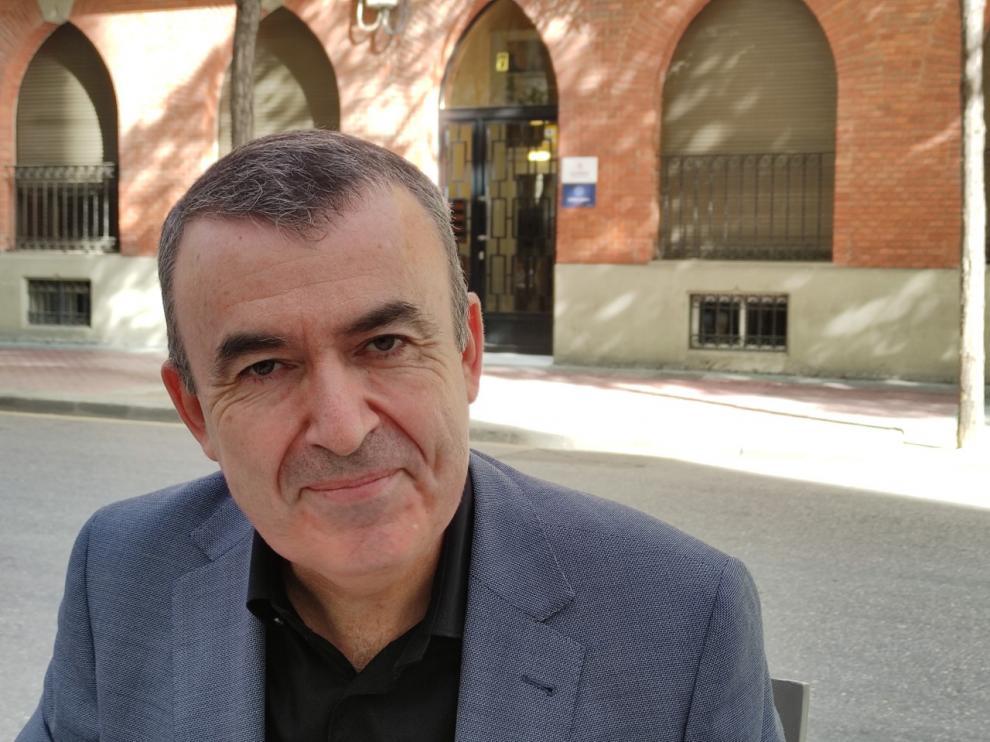 Lorenzo Silva ha participado en el ciclo de escritores que organiza la Diputación de Zaragoza y en el proyecto literario de la España vacía en Teruel.