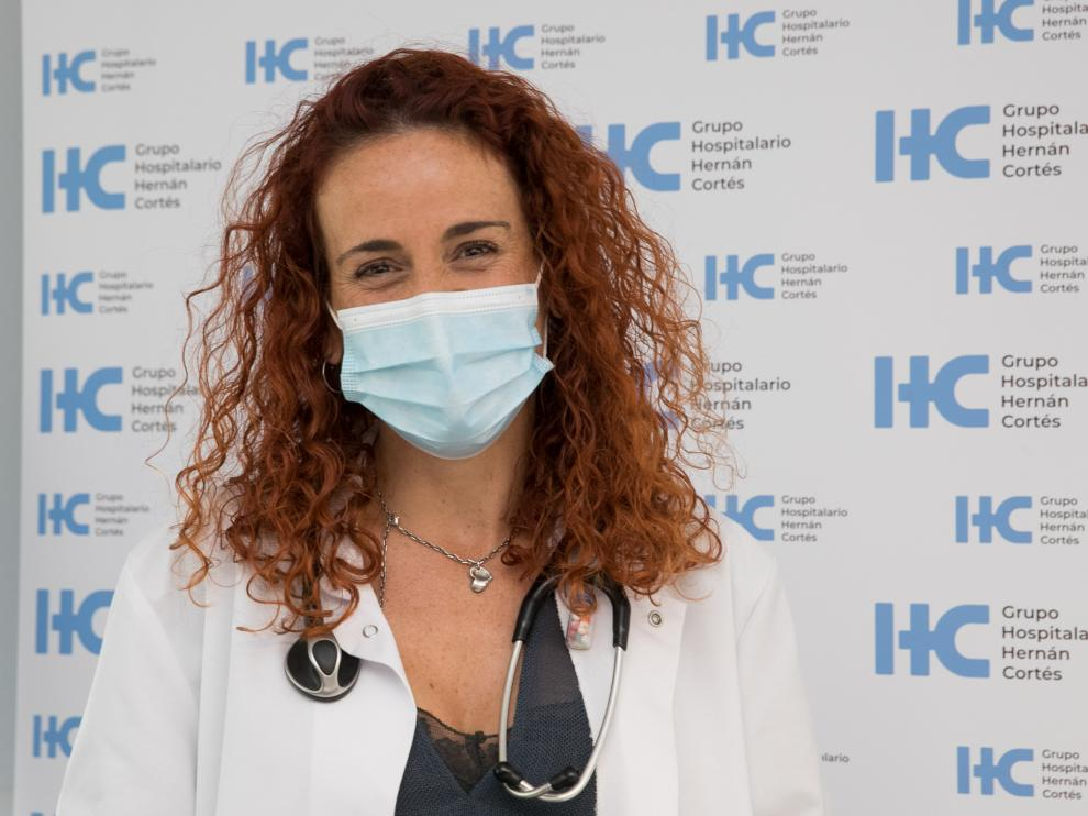 La doctora Beatriz Ordóñez es la responsable del Servicio de Cardiología de este centro hospitalario.
