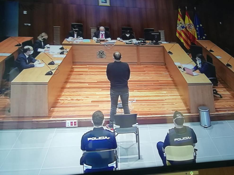 El juicio se ha celebrado en la Audiencia Provincial de Zaragoza