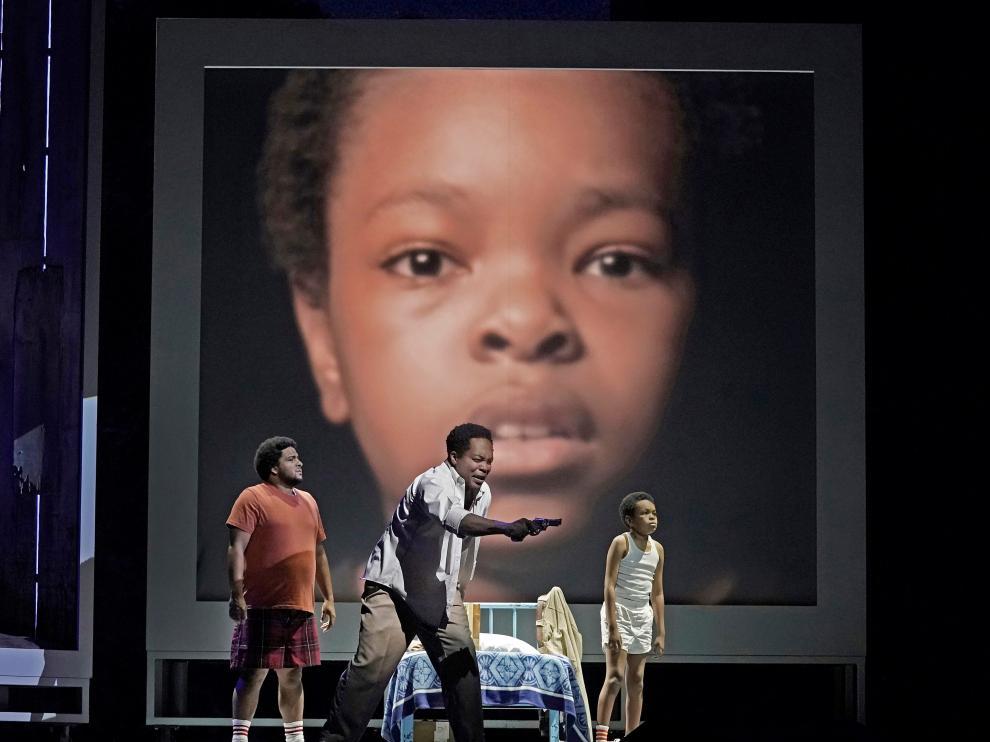 Un momento del estreno de la ópera en el Met.