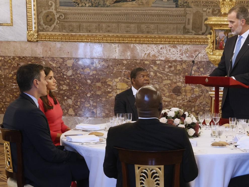 Almuerzo en honor presidente de Angola