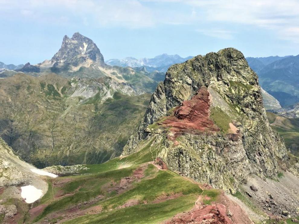 La Moleta (2.572 metros) es una de las cimas que se alcanzan en la carrera de trail running Canfranc-Canfranc