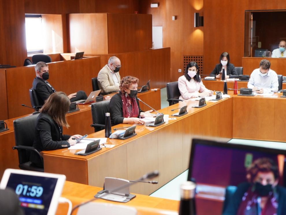 Comisión de Ciencia, Universidad y Sociedad del Conocimiento de las Cortes de Aragón
