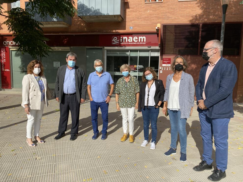 La inauguración de la nueva sede de Down Huesca en Monzón.