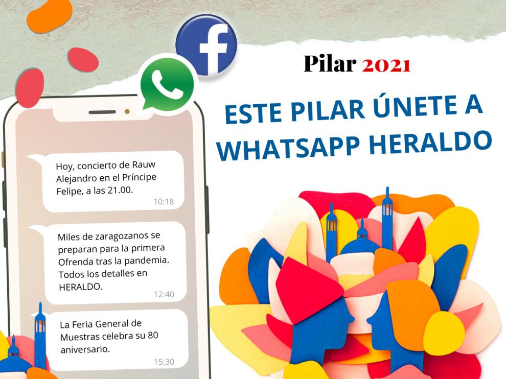 Este Pilar, ¡únete a WhatsApp de HERALDO y entérate de todo! Date de alta gratis