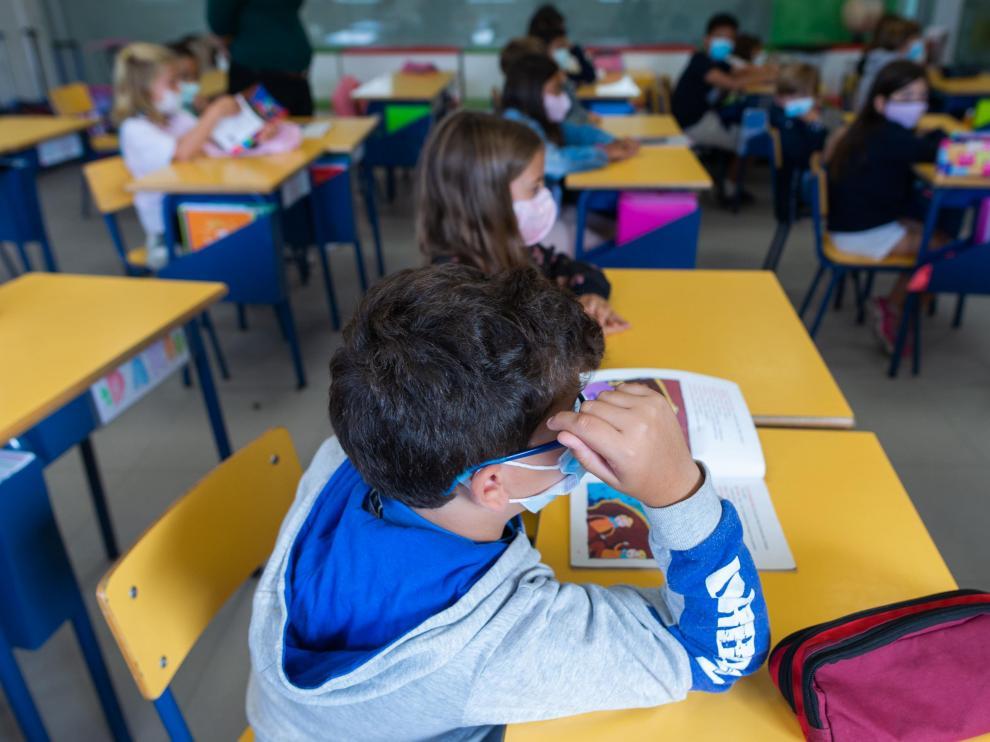REPORTAJE SOBRE EL COLEGIO MARIANISTAS EN SU 75 ANIVERSARIO / 01-10-2021 / FOTOS: FRANCISCO JIMENEZ[[[FOTOGRAFOS]]]