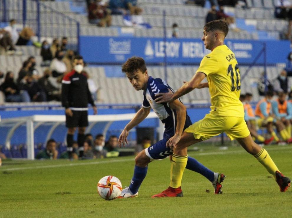 El Villarreal sacó una trabajada victoria de Sabadell