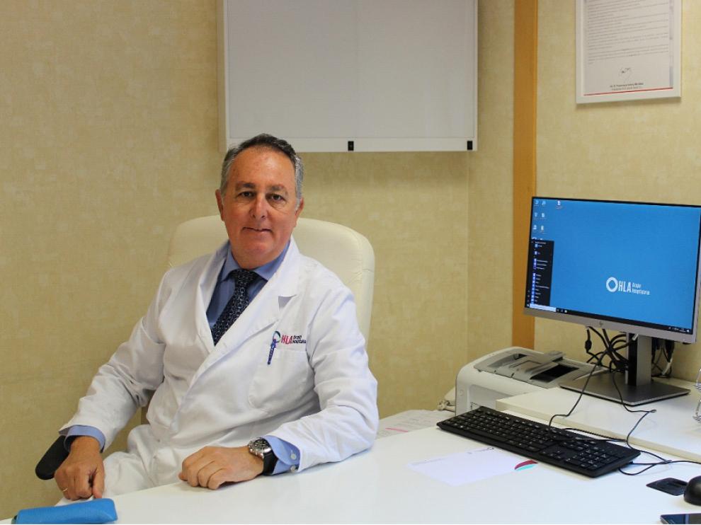 El Dr. Enrique Latorre Marqués, coordinador de la Unidad del Dolor de Clínica HLA Montpellier.