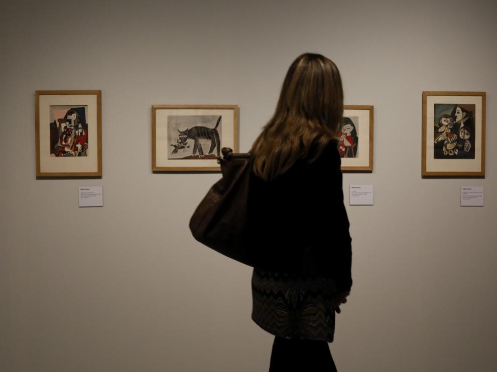 Museo Goya en Zaragoza, sede de la muestra titulada 'Picasso-Diario íntimo'