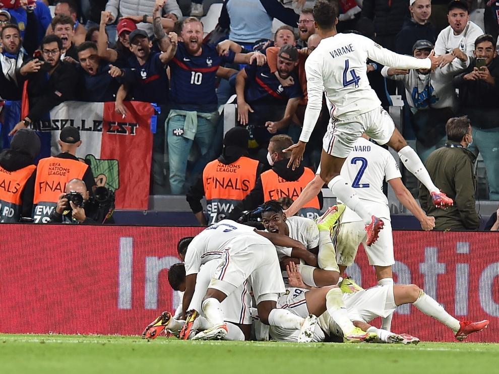 Semifinal Liga de Naciones: Bélgica-Francia