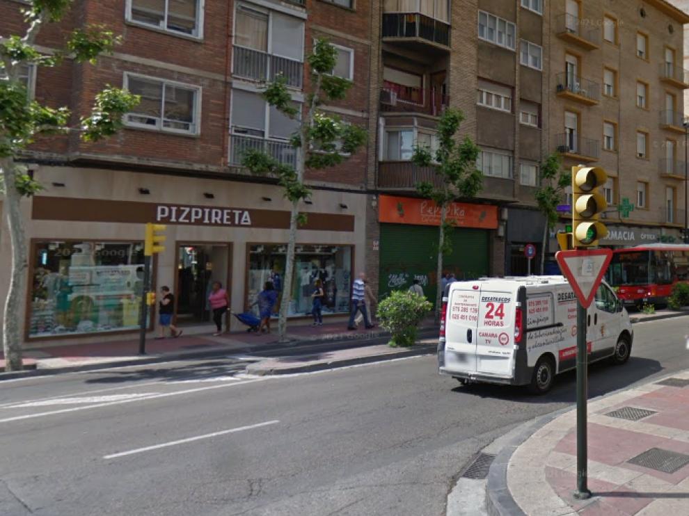 El accidente ocurrió el martes en la confluencia de la avenida de Madrid con la calle de Marcos Zapata
