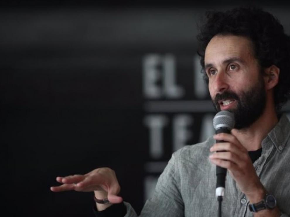 Foto de archivo del dramaturgo Pablo Remón.
