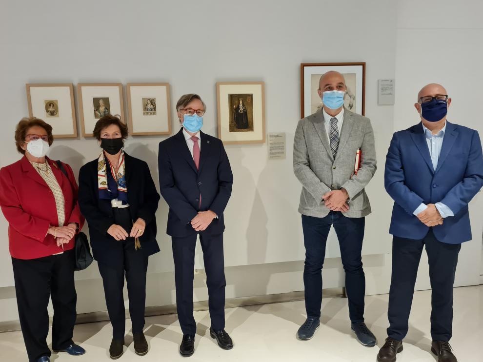 Presentación de la nueva acuarela de Carderera en el Museo de Huesca.