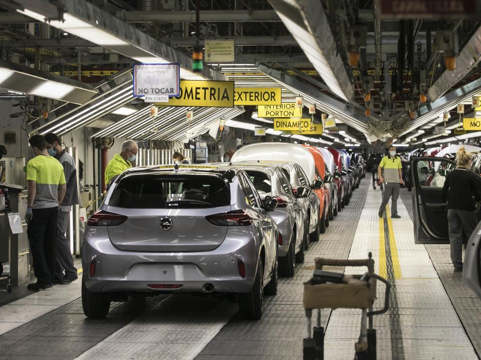 Instalaciones de la planta de Opel PSA en Figueruelas.