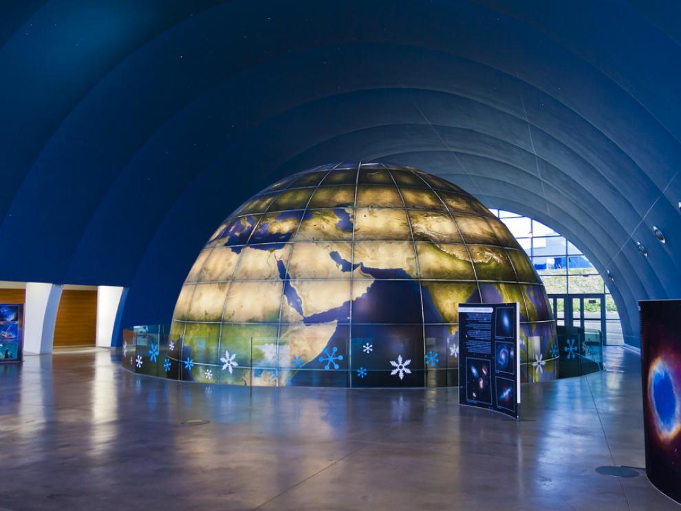 Imagen del Planetario de Huesca.