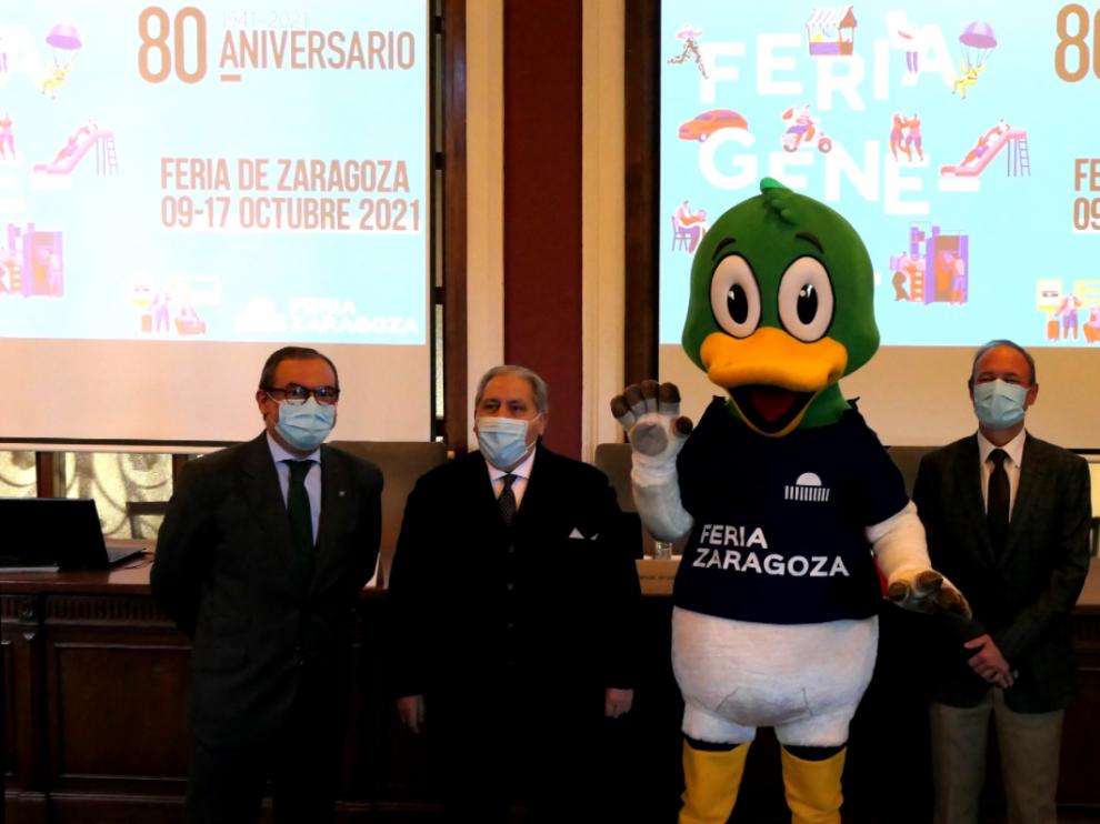 Manuel Teruel en la presentación de la Feria General de Zaragoza