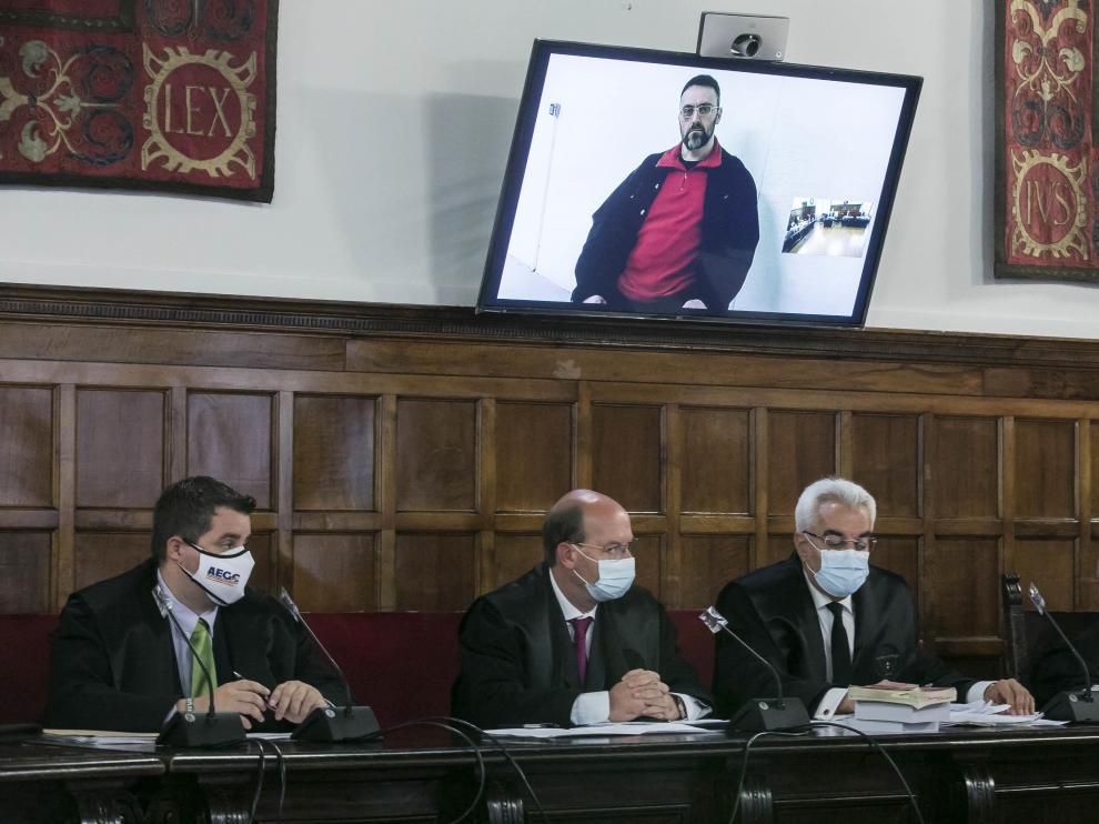 La vista para analizar el recurso presentado por Igor el Ruso -siguió el acto por videoconferencia desde la prisión- se celebró el pasado 22 de septiembre.