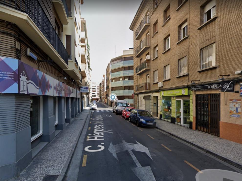 Una imagen de la calle Héroes del Silencio, donde recibió el alto de una patrulla.