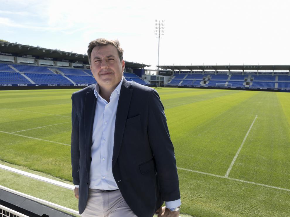 Manolo Torres, consejero delegado de la SD Huesca.