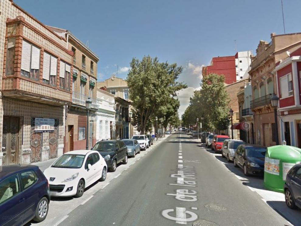 Una calle del barrio del Cabanyal, en Valencia.