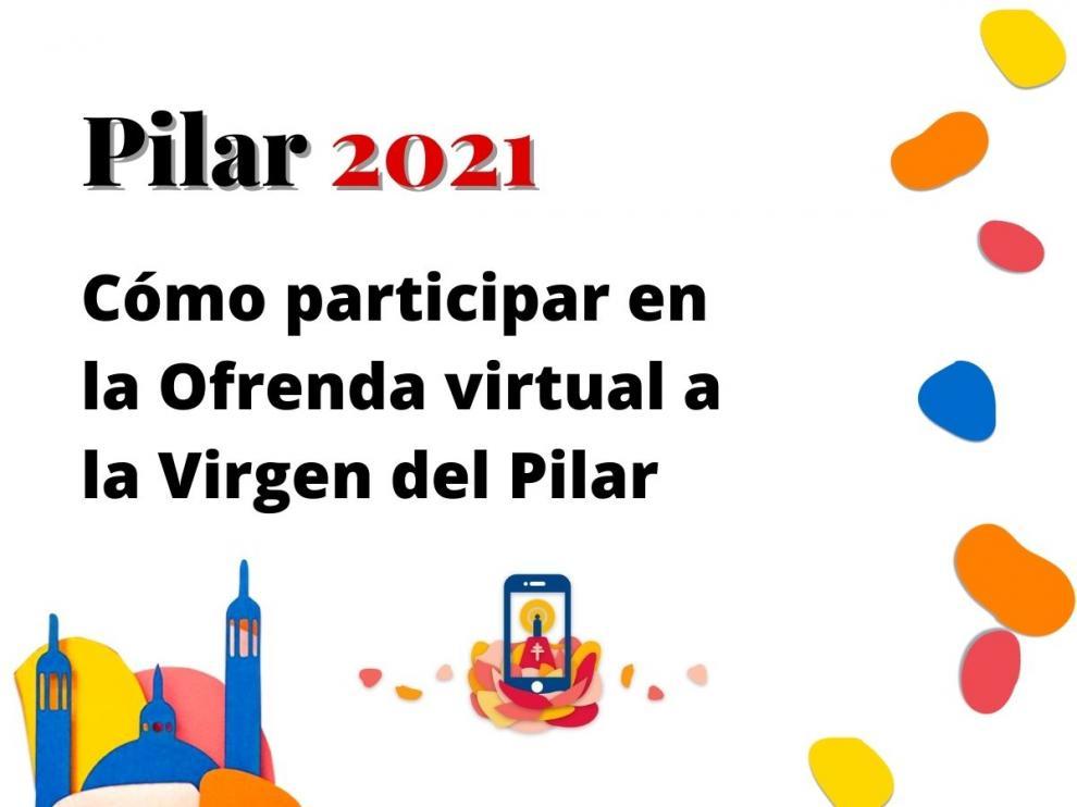 Cómo participar en la Ofrenda virtual a la Virgen del Pilar