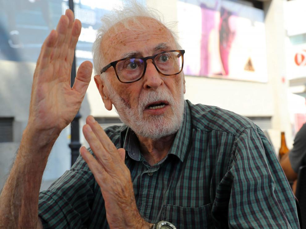 El geógrafo Eduardo Martínez de Pisón.