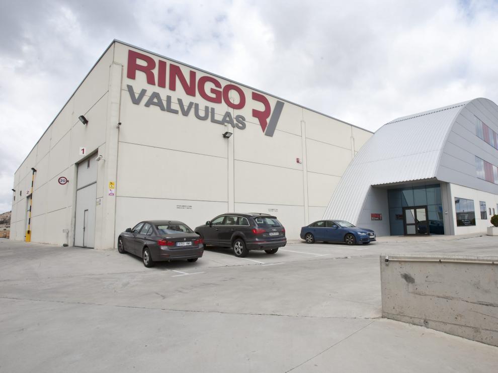 Exterior de las naves actuales de Ringo Válvulas en el polígono Empresarium.