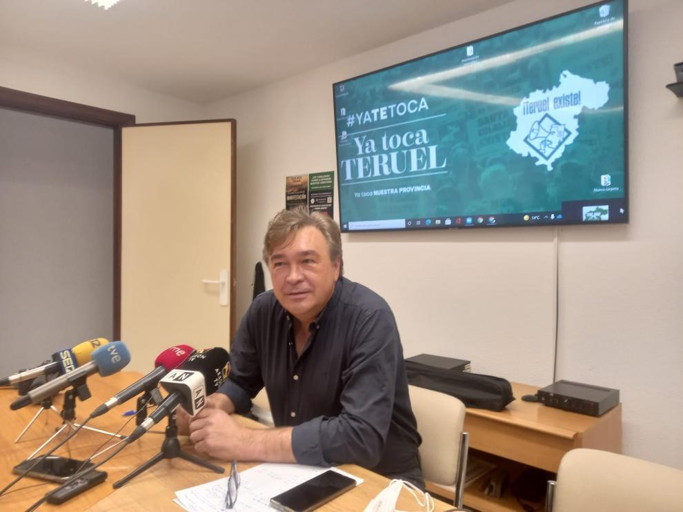 El diputado de Teruel Existe, Tomás Guitarte.