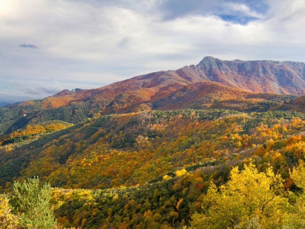 El Parque natural de Montseny, en Cataluña.