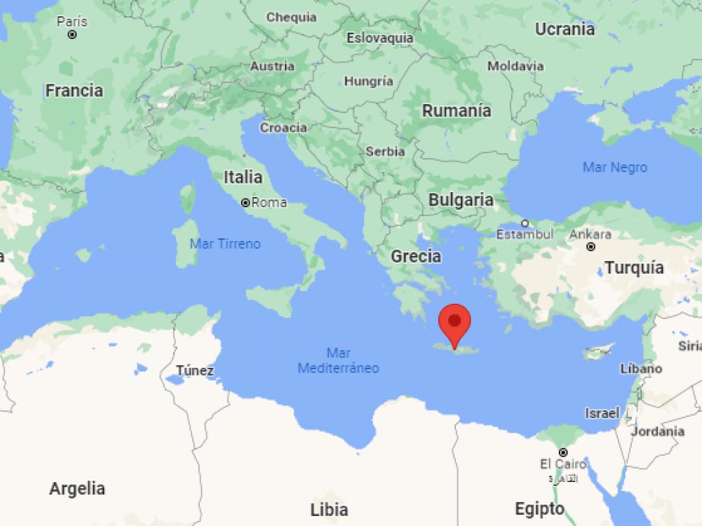 Isla de Creta