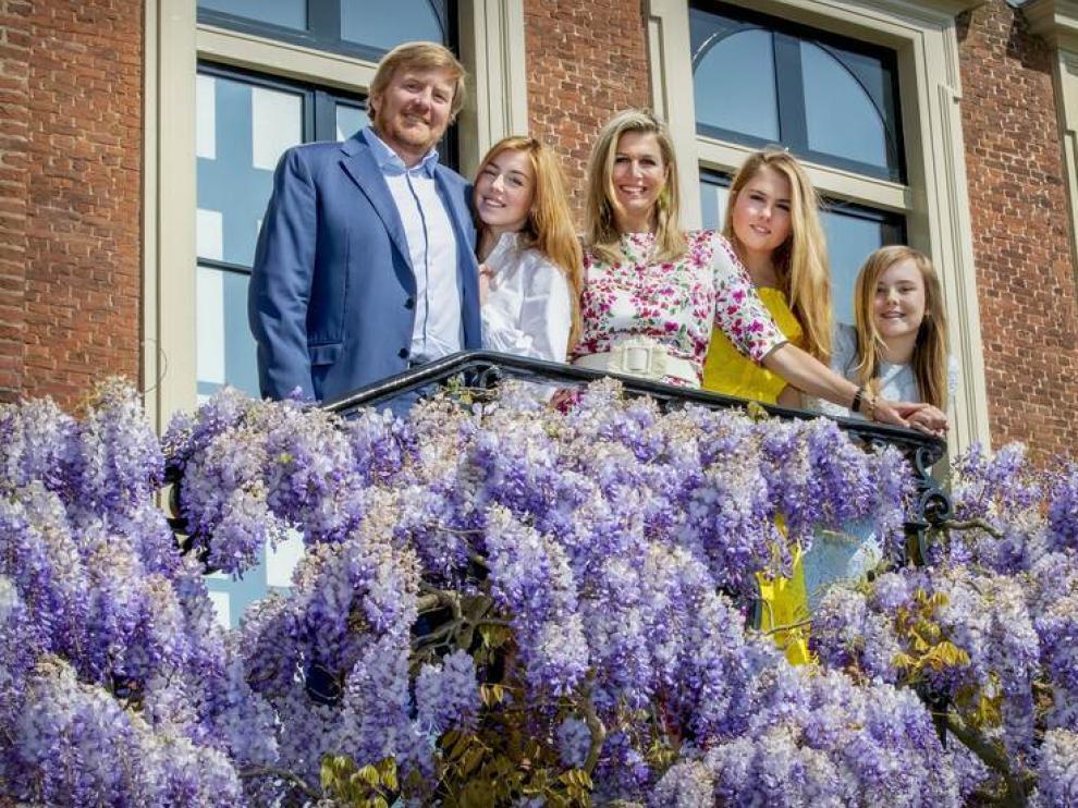 La familia real de Países Bajos.