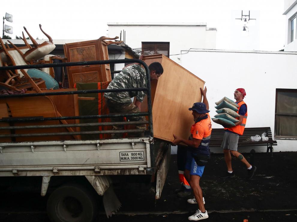 Los palmeros se preparan para las nuevas evacuaciones