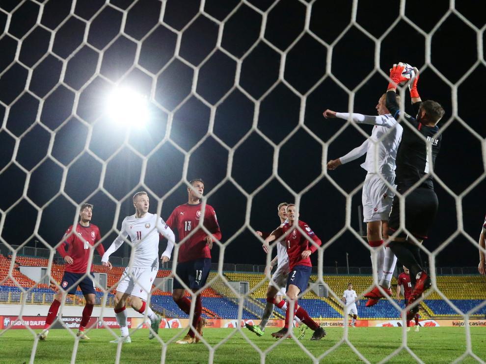 Partido de la UEFA.