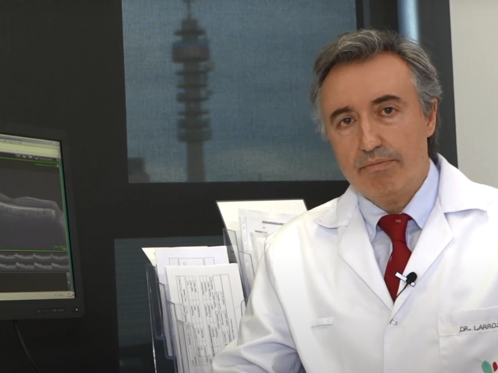 El doctor José Manuel Larrosa explica la importancia del cuidado de la visión durante los primeros años de vida.