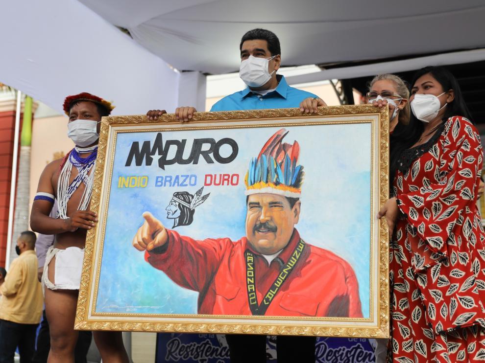 """Maduro insiste en que España debe pedir perdón por el """"genocidio de 300 años"""""""