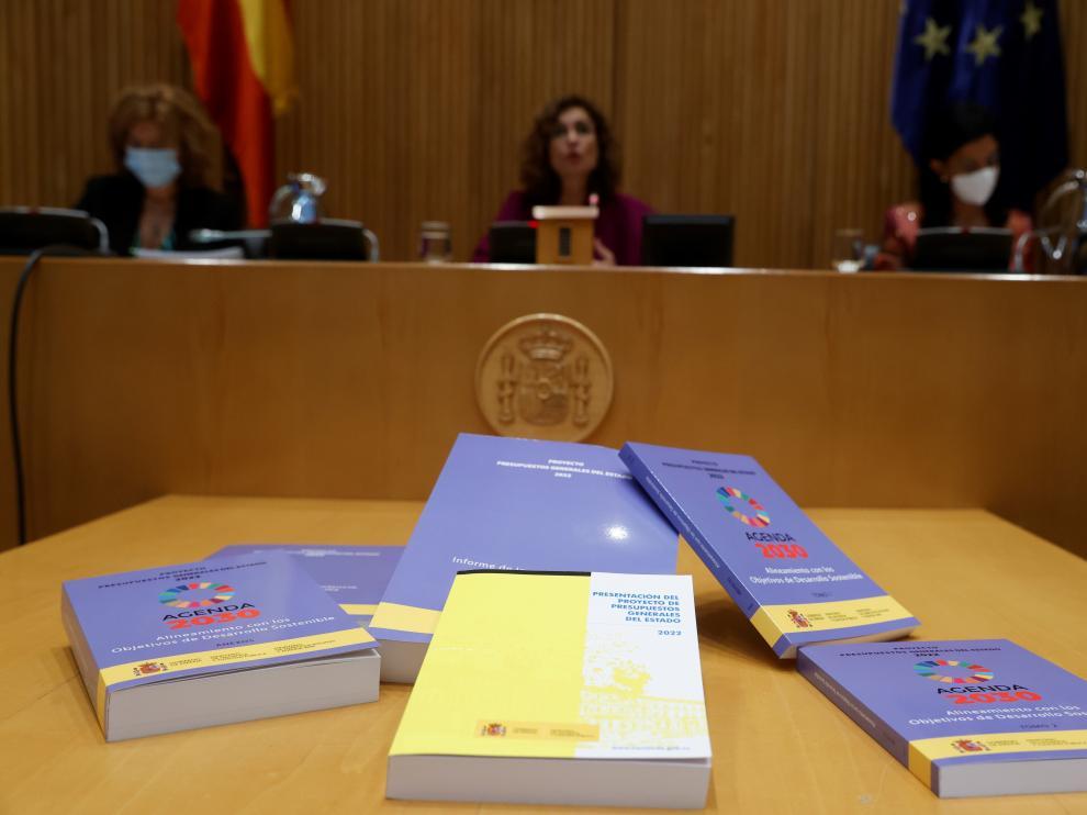 Presentación del proyecto de Ley de Presupuestos Generales del Estado para 2022