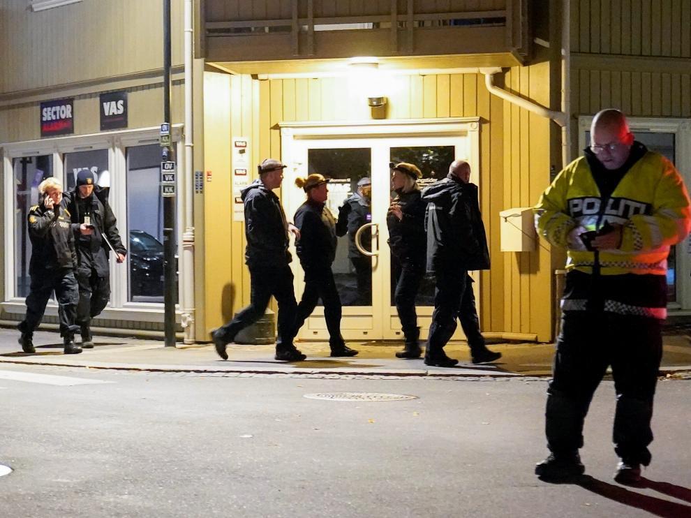 Ataque con cinco muertos en Noruega