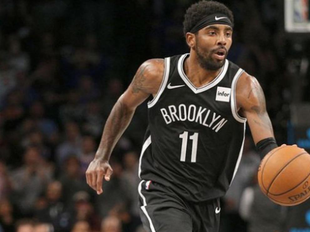 Kyrie Irving, en un partido con los Brooklyn Nets.