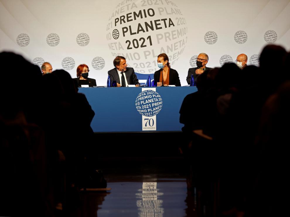 Presentación del Premio Planeta