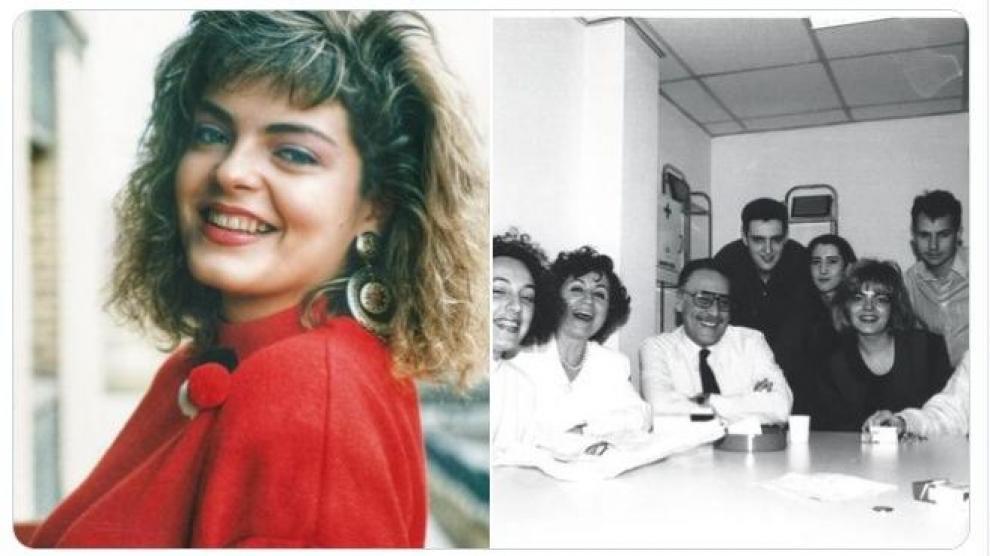 Un tuit en recuerdo a Paloma Tortajada, publicado por uno de sus compañeros, Javier Romero.