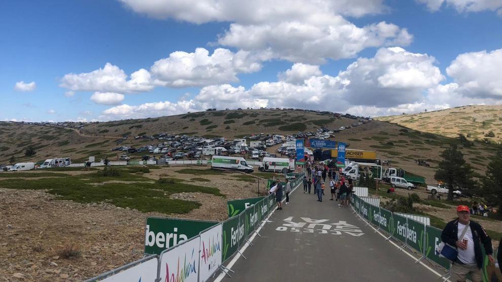 La Vuelta llega a Teruel.
