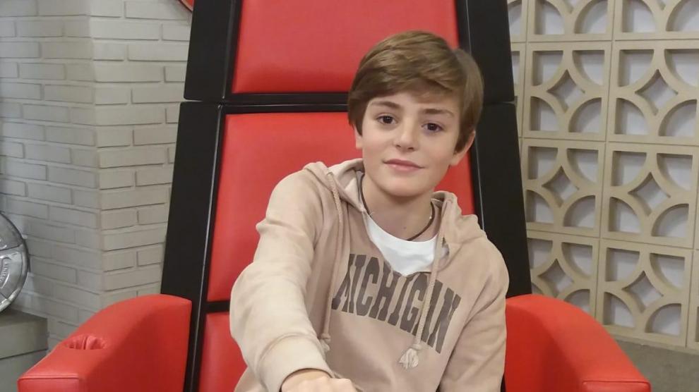 Miguel Martín, un infantico en 'La Voz Kids'
