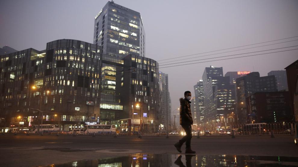 Alerta roja por contaminación en Pekín