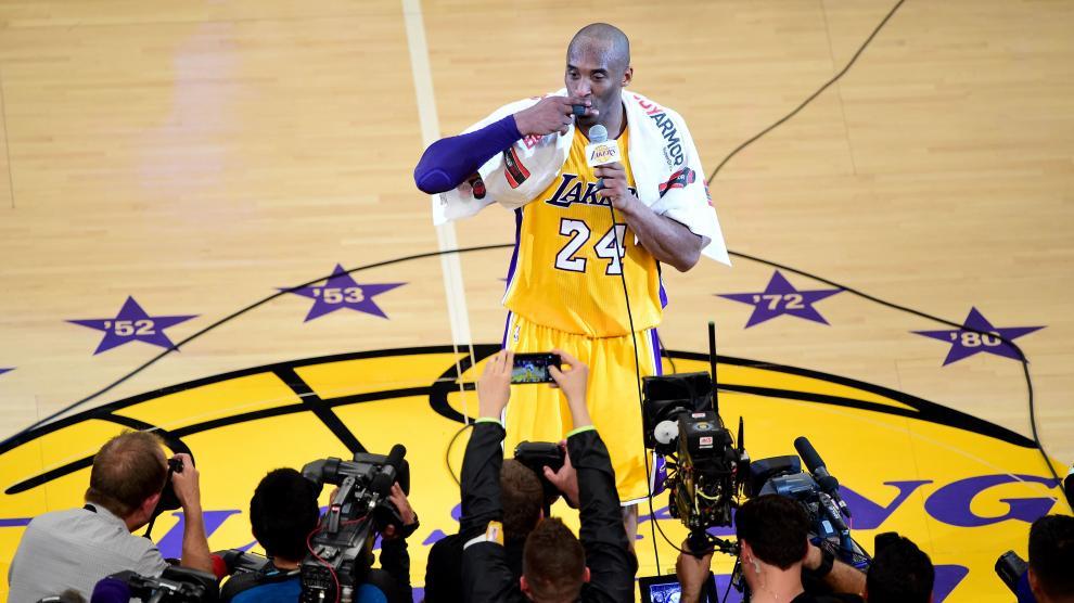 Kobe Bryant dice adiós